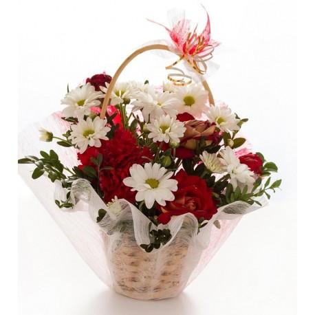 Cesta de Flores Logroño
